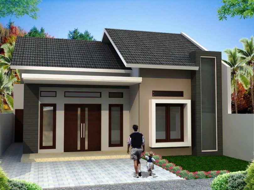 exterior small house designs images - Small House Designs