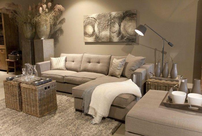 Le canapé beige , meuble classique pour le salon , Archzine