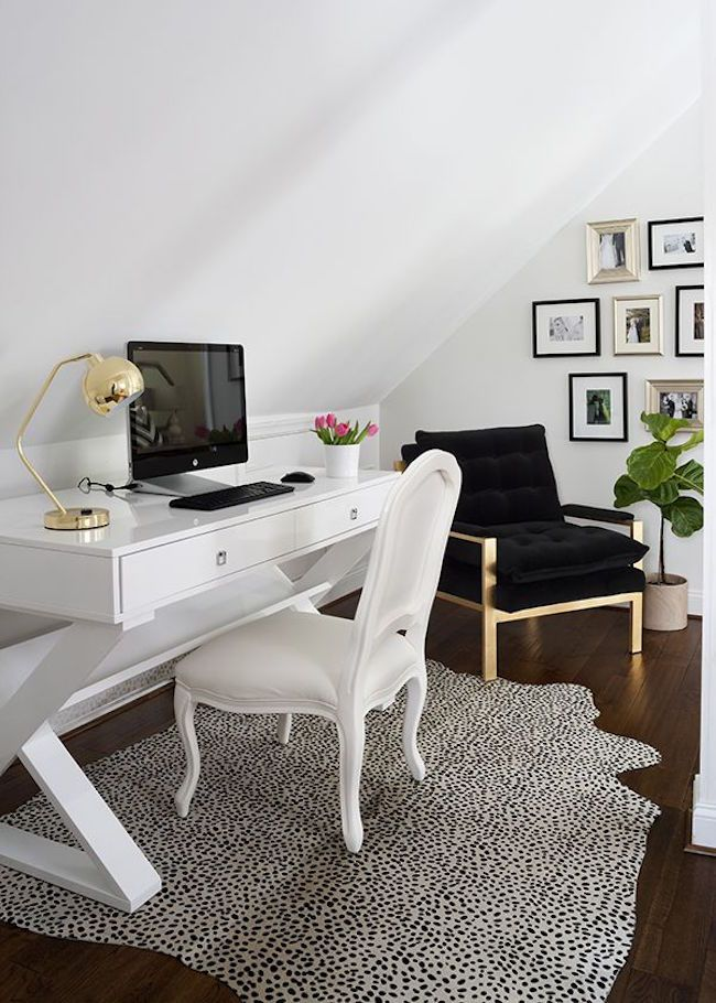 15 Bright Attic Spaces For An Office Or Studio Home Office Design Home Office Decor Interior