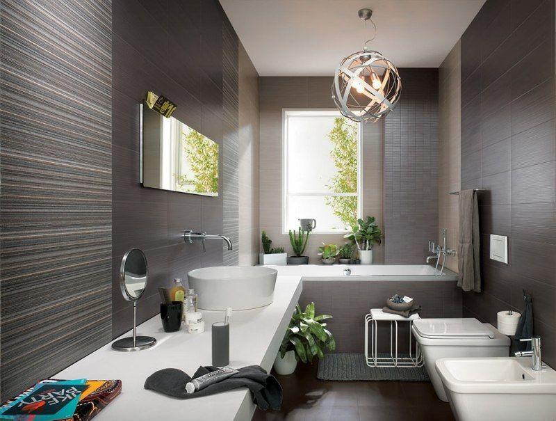 Faïence salle de bains – 88 des plus beaux carrelages design venant ...