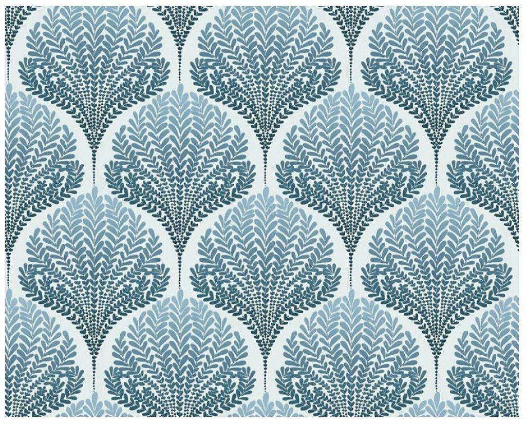 Tapeta Winylowa Liście Kwiaty Tapety ścienne Fliz Tapety