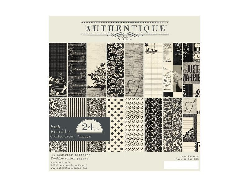 Authentique always collection paper pads collection