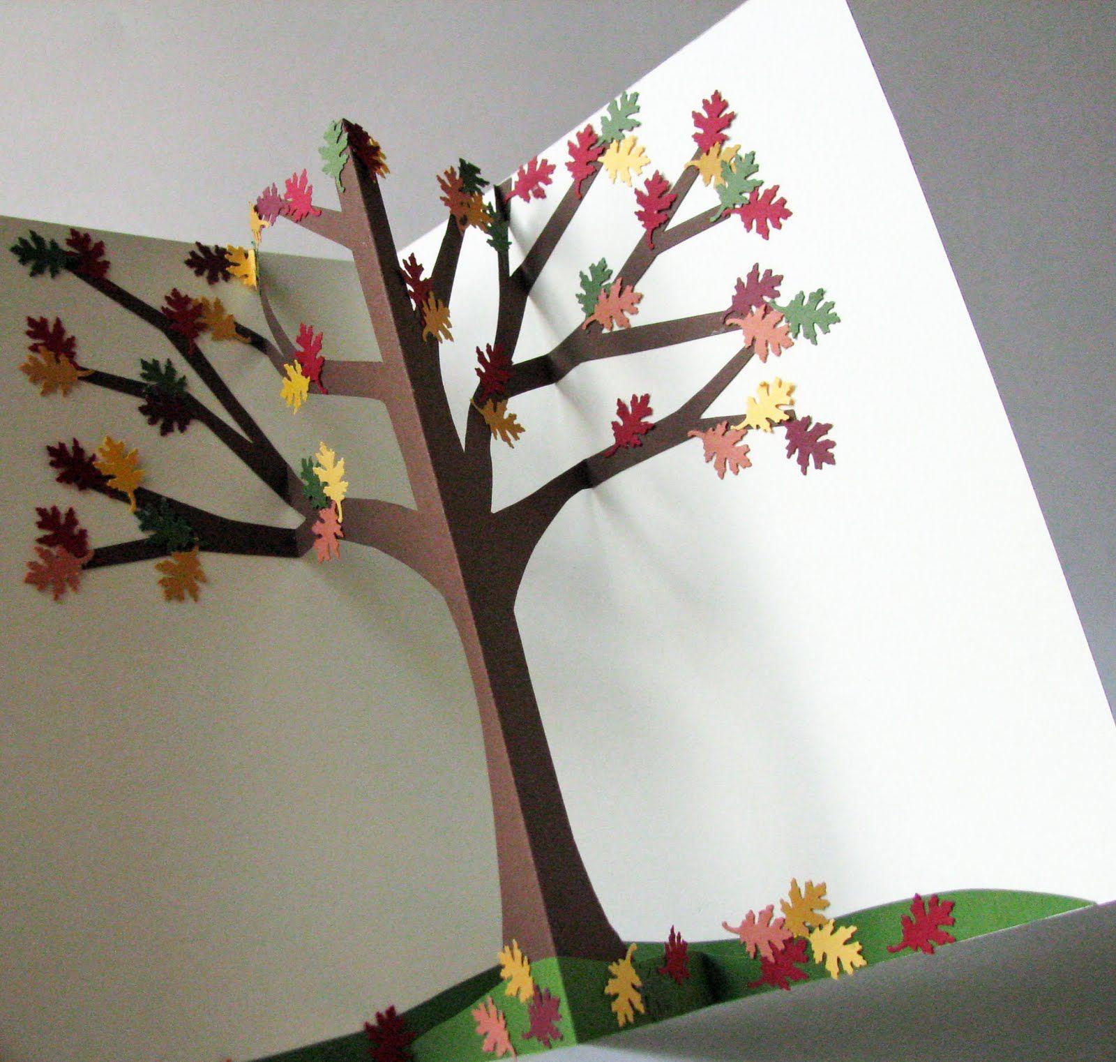 Мишки, открытки оригами своими руками осень
