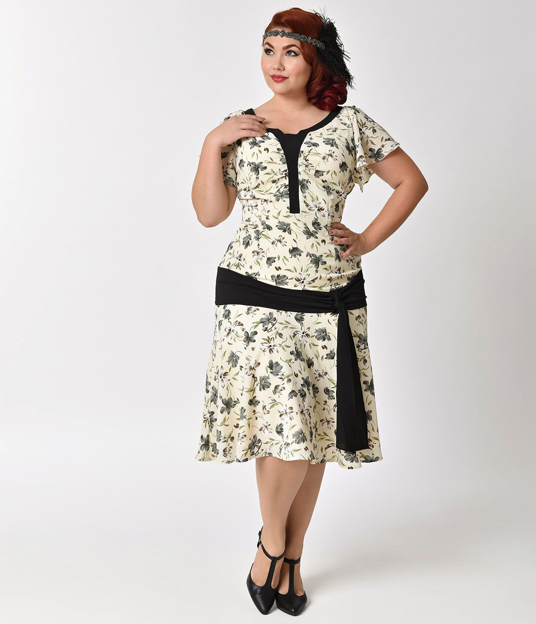 Plus Size Vintage Dresses, Plus Size Retro Dresses | Plus ...