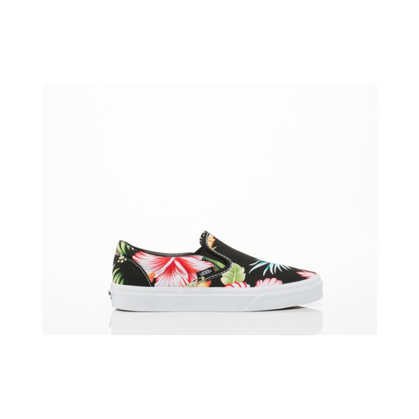 8a3b7f3d94 Vans Classic Slip On (€40) ❤ liked on Polyvore featuring shoes ...