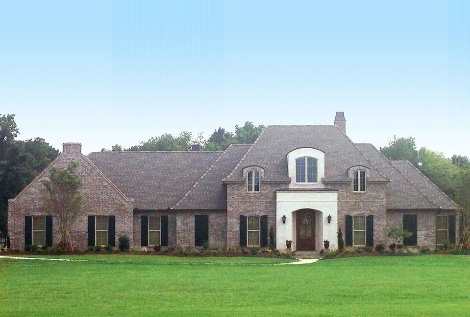 Madden home design acadian house plans french country for Single story french country house plans