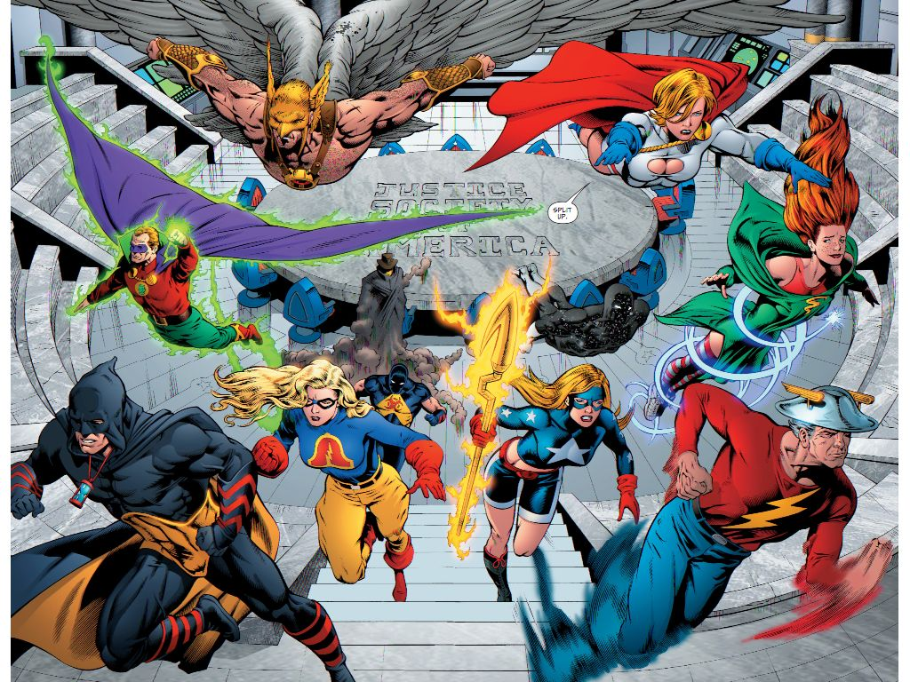 The Justice Society Of America Justice Society Of America Dc Comics Superheroes Marvel N Dc