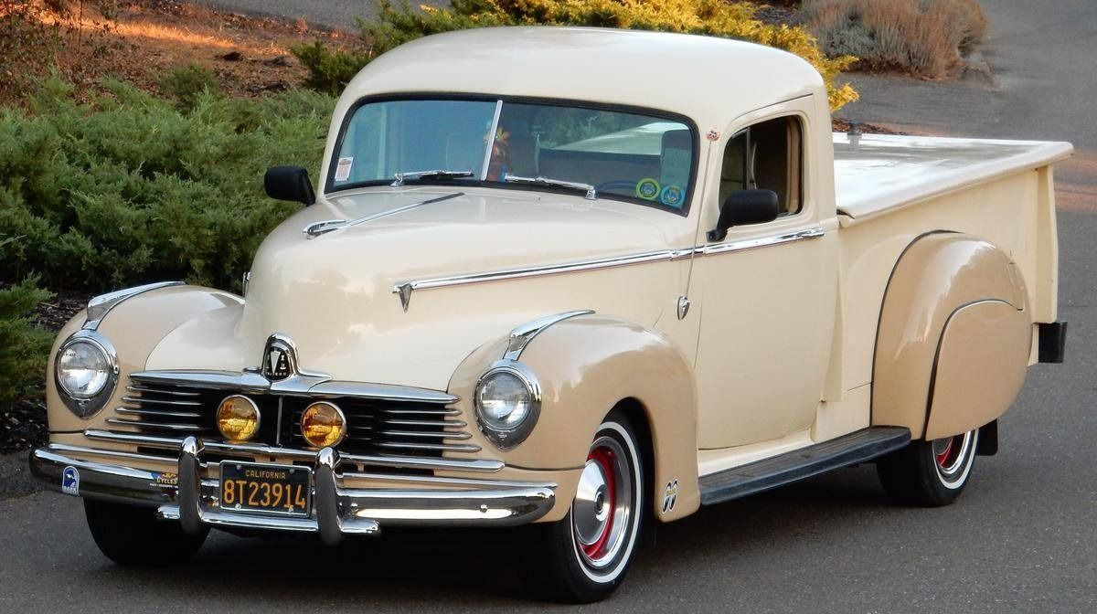 """frenchcurious: """"Hudson pick-up 1946 - source 40s & 50s American ..."""