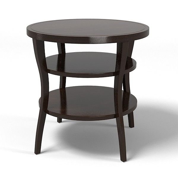 Baker Barbara Barry Round Tiered Side End Table 3559 Modern .