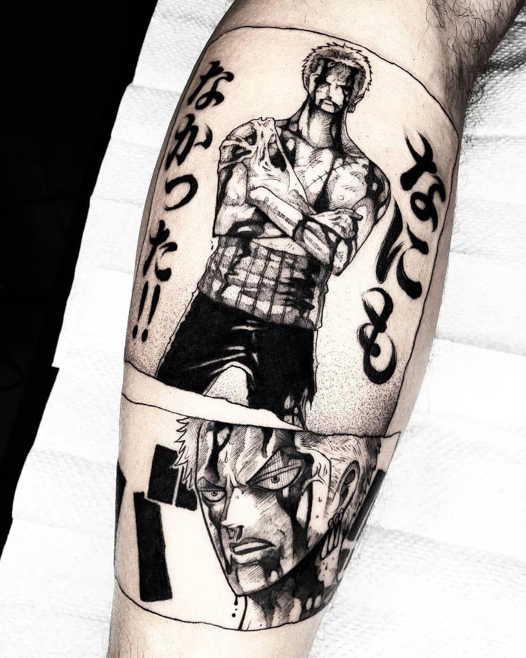 Felipe Kross En Instagram Nothing Nothing At All Roronoa Zoro Best Scene For The Amazing Marc T In 2020 Roronoa Zoro One Piece Tattoos Anime Tattoos