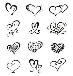 image result for 3 heart tattoo should i or should i not rh nz pinterest com Double Heart Tattoo Designs Swirl Heart Tattoo Design