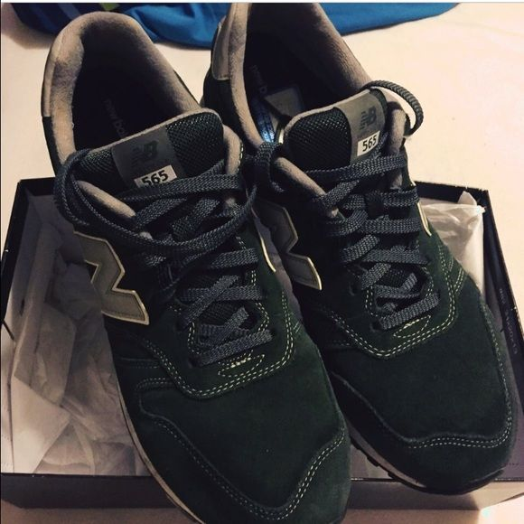 green men new balances green men new balance sneakers. Barely used in great condition. New Balance Shoes Sneakers