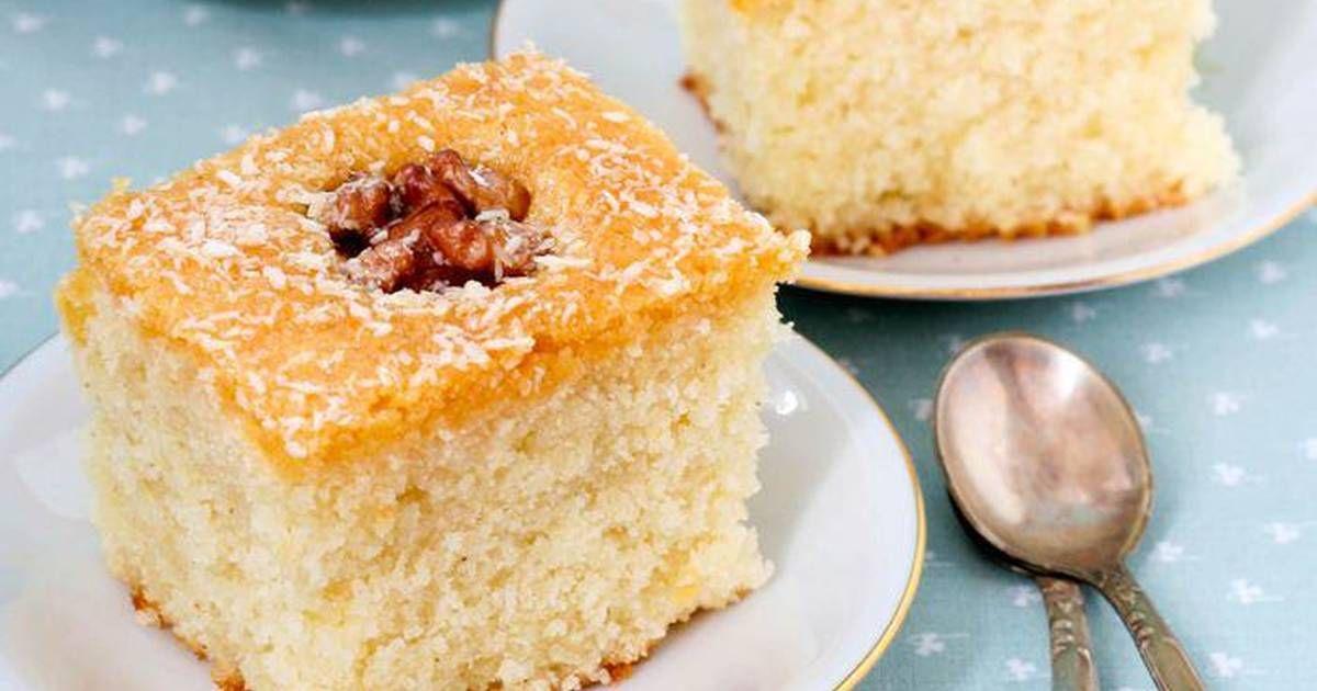 طريقة عمل هريسة جوز الهند اللبنانية بالصور من Didisaso Recipe Coconut Recipes Middle Eastern Desserts Lebanese Desserts