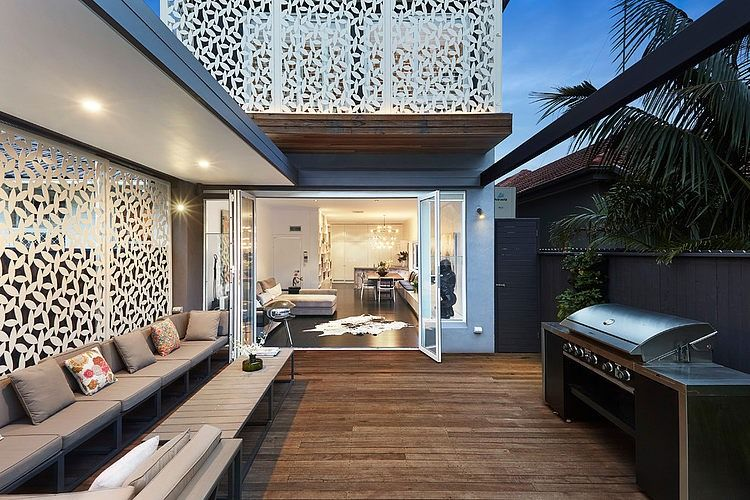 Bondi Home By Lsa Architects With Images Residential Renovations Outdoor Sitting Area Indoor Outdoor Living