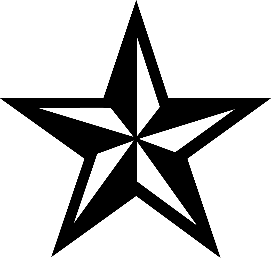 Texas Star Black And White Google Search Star Tattoos For Men Star Tattoos Star Clipart