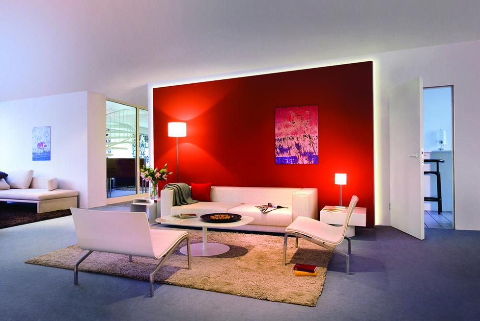 Wundervoll Streich Ideen Wohnzimmer Gefesselt In Sehr Groß Und Geräumig Färbung Die  Wände Attraktiv Aussehen Und Vermitteln Den Eindruck Von Eleganz | Pinterest