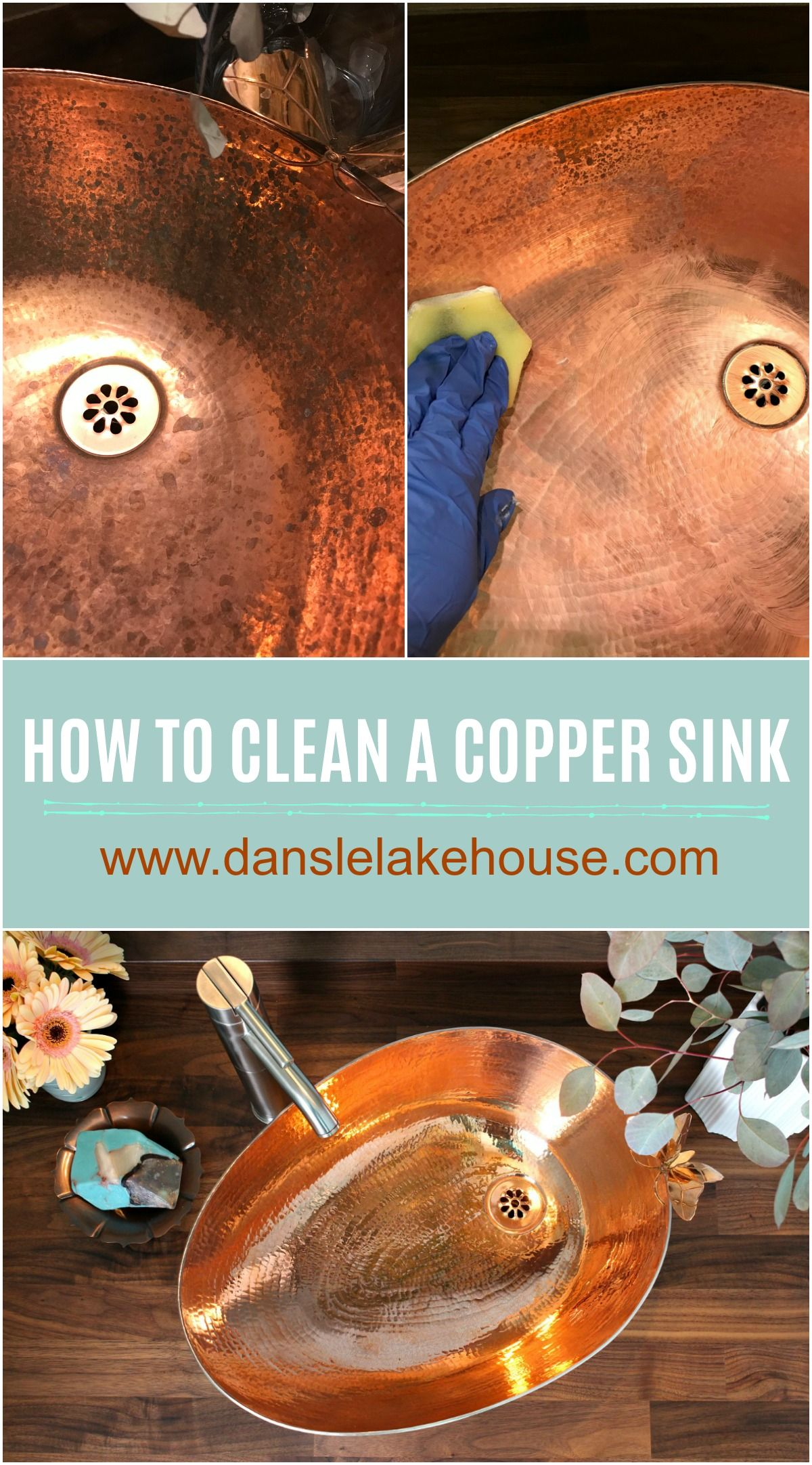 Did my copper sink patina how to clean a copper sink