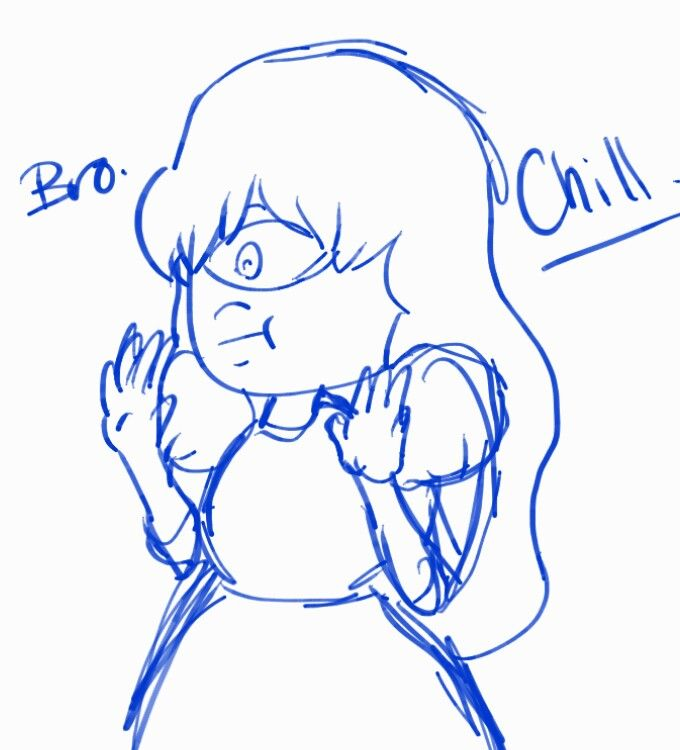 Sapphire speaking with Ruby be like... xD