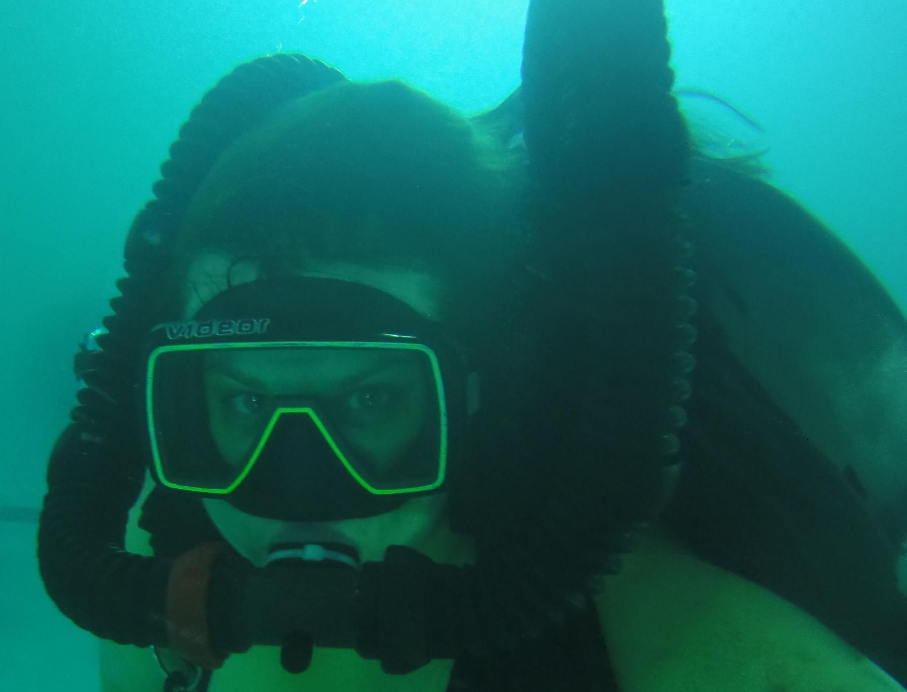 41 best double hose woman images on pinterest diving suit scuba wetsuit underwater scuba dress diving suit xflitez Choice Image
