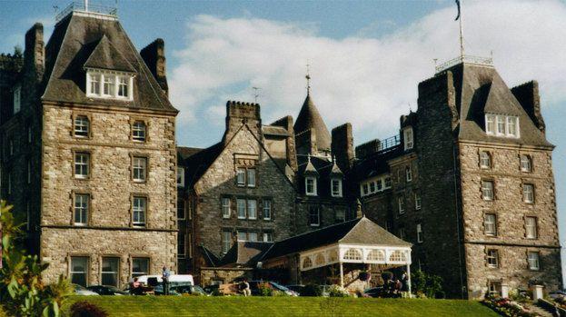 Atholl Palace Hotel Pitlochry Perthshire Wikipedia Creatvie Commons image Quality news image uploaded November 24 2014