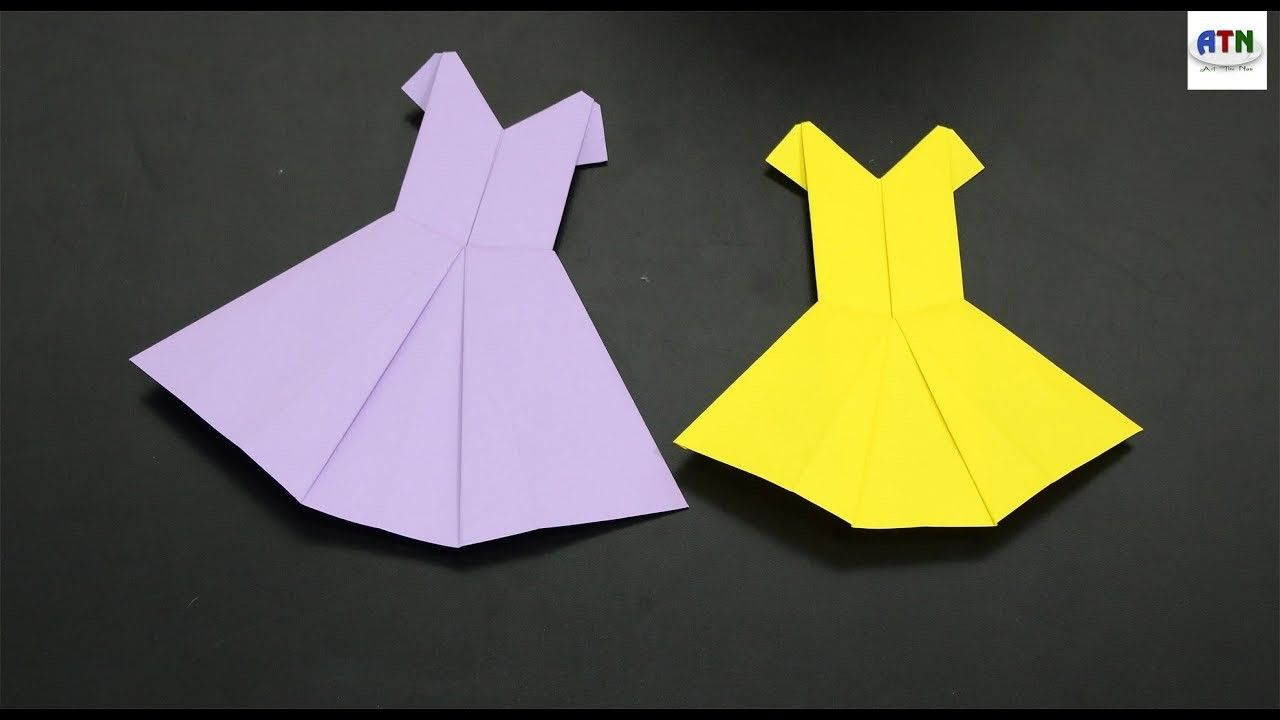 Anticuado Origami Wedding Dress Ideas Ornamento Elaboracion