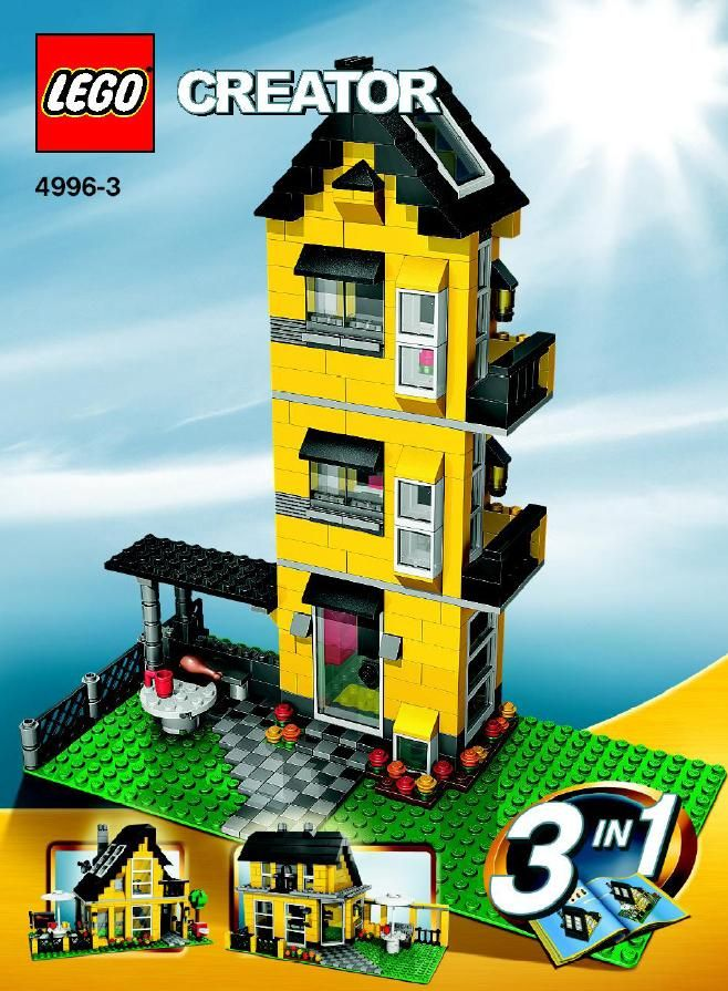 Creator - Holiday House [Lego 4996] | Lego's :) | Pinterest | Lego ...