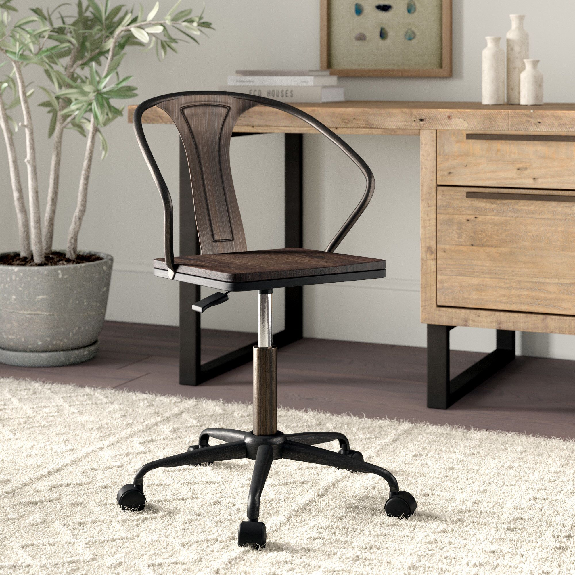 Magnificent Aledo Task Chair In 2019 Home Office Industrial Office Home Interior And Landscaping Dextoversignezvosmurscom