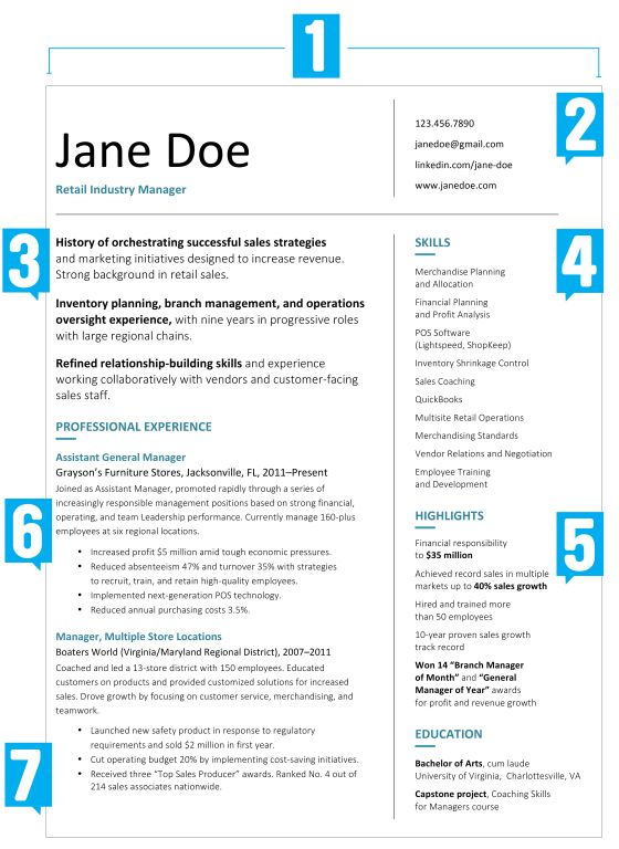 What Your Resume Should Look Like In 2017 GetaRealJob