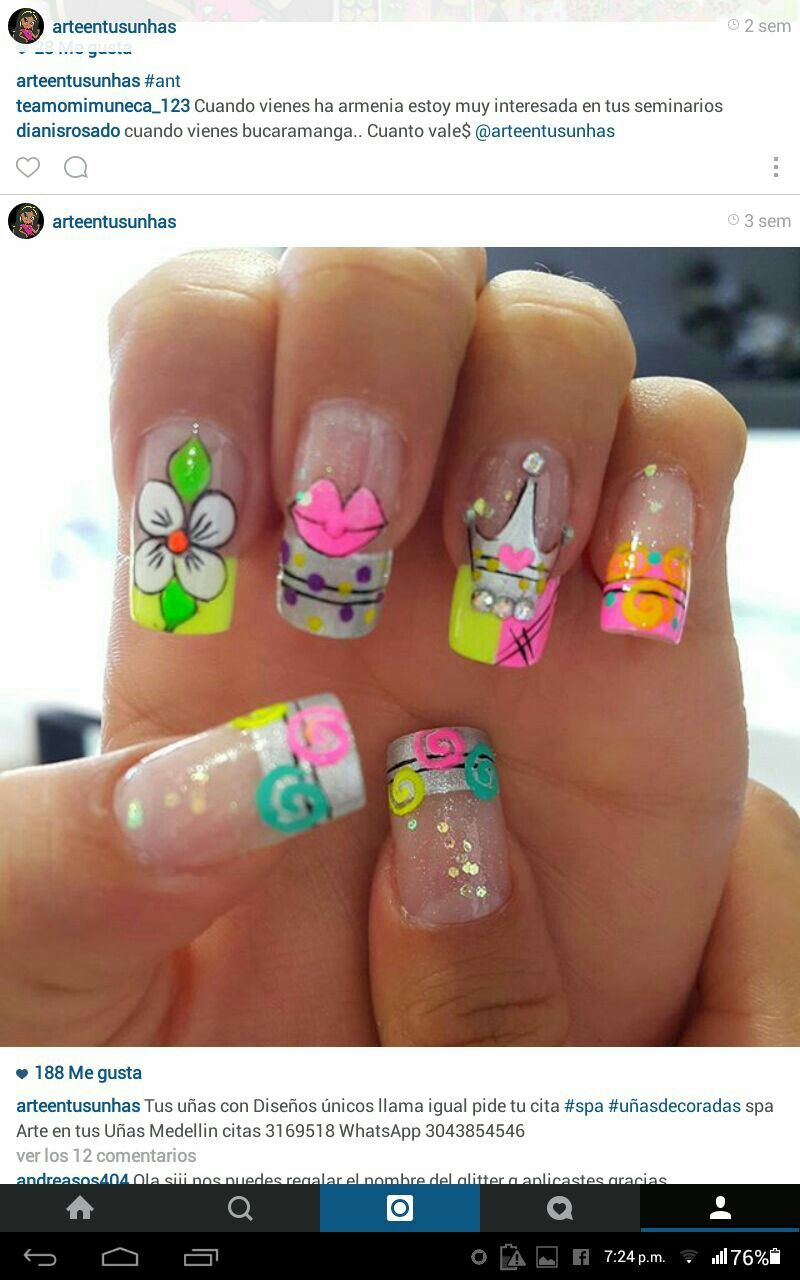 Pin by X V on nail designs | Pinterest | Manicure
