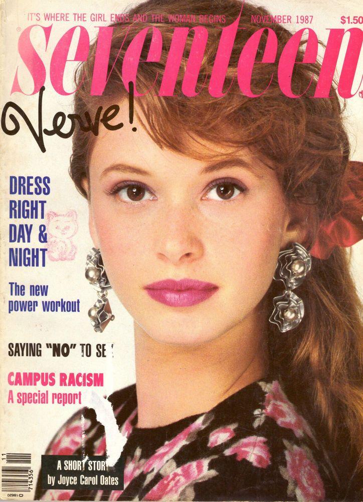 November 1987 Cover With Joann Richter