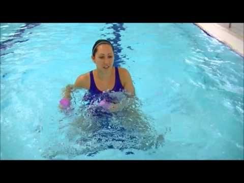 Aqua Noodle Knee Strengthening Water Noodle Workout 3
