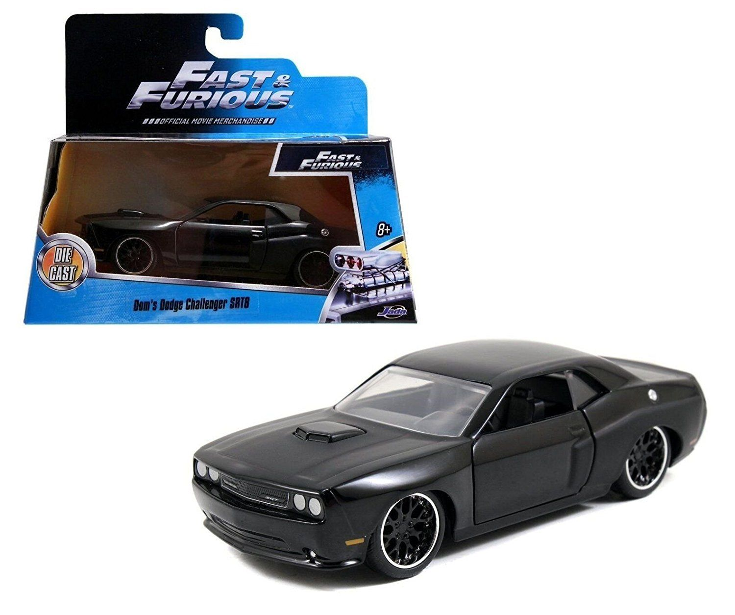Jada toys fast and furious 1 24 scale die cast dodge challenger jada toys pinterest dodge challenger scale and toy