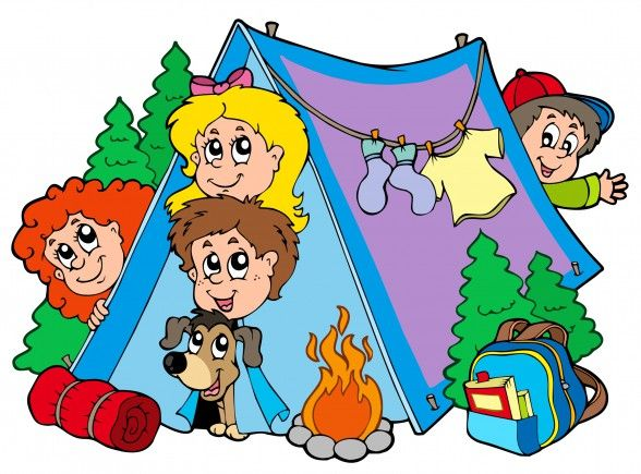Group Of Camping Kids Mit Bildern The Well