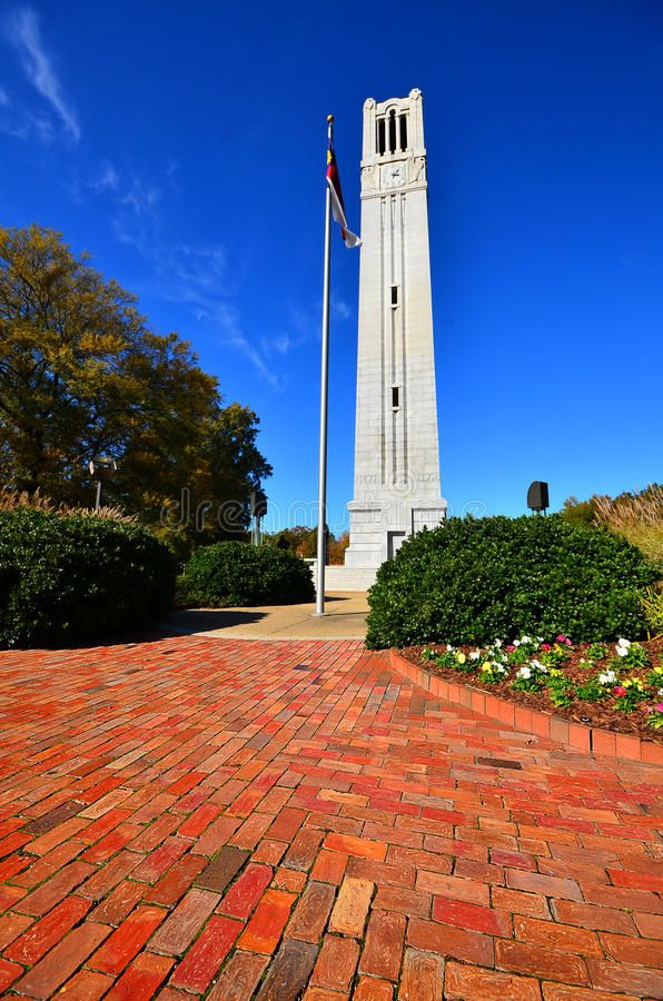 NC State Bell Tower. The bell tower on the campus of North