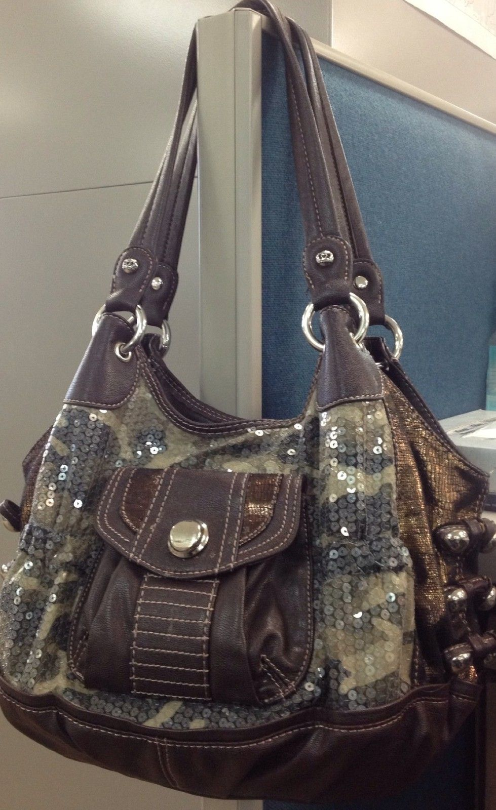 Your Purse Has Camo And Sequins Kathy Van Zeeland Bag