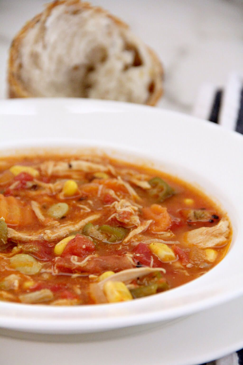 Chicken and Vegetable Soup via @insouthernktchn