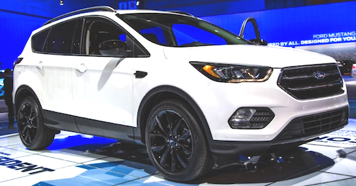 2018 Ford Escape Anium Configurations The Formula For Compact Crossover Is Not A Complex One Integrate Room And Also Energy With Modi Of