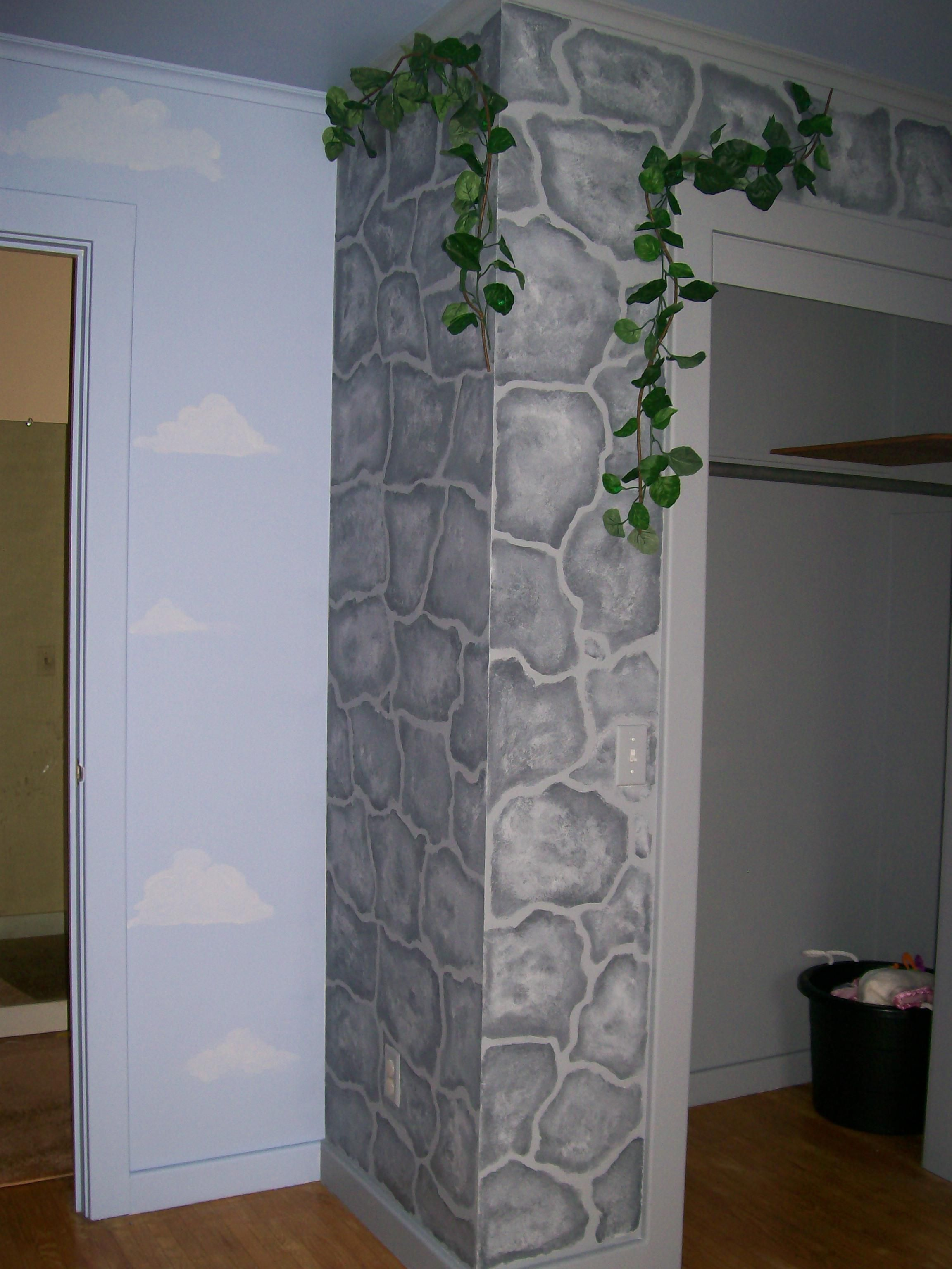 Stone Wall Painting The Faux Effect