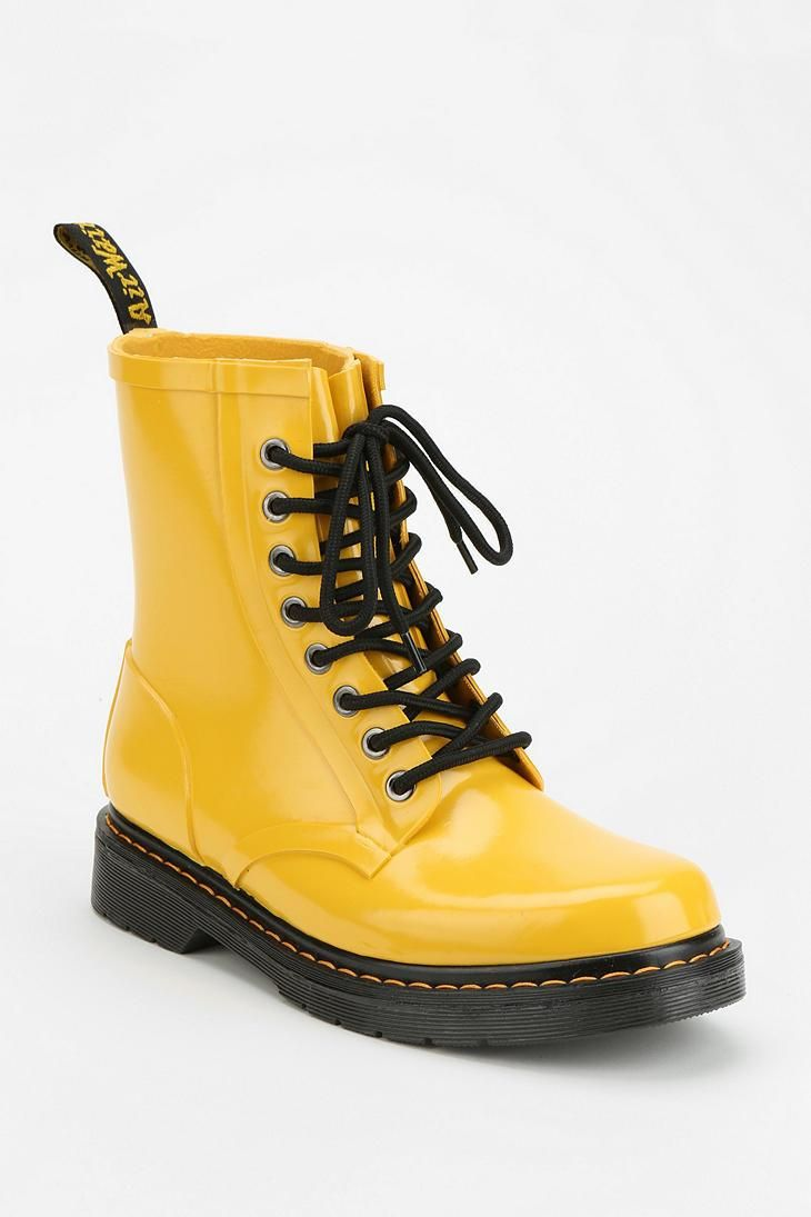 3c0cfb5ccf6 Dr. Martens Drench Glossy 8-Eye Rain Boot | Shoes | Zapatos, Ropa y ...