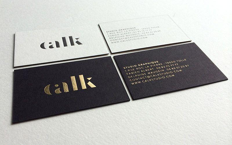 Extrêmement Print : Badcass - Design : Calk Studio - Carte de visite en  VA63