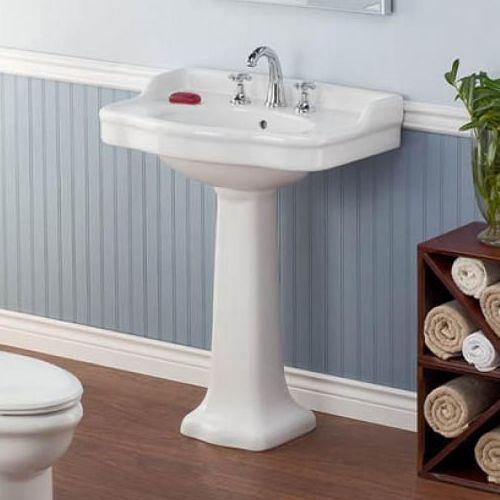 Bathroom Sinks Best Prices shop cheviot 350/2 antique antique pedestal sink at atg stores