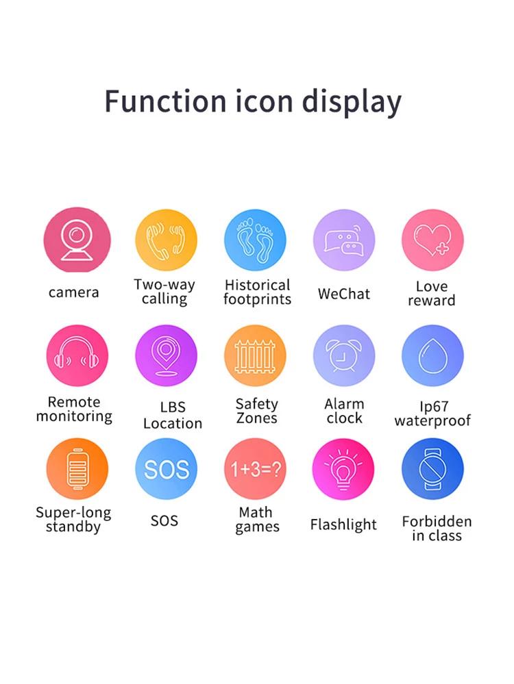 2019 New Design Factory Hot Selling Yj 668 Sos Remote Monitor Kids Smart Watch Music Wristwatch Kids Sos Smart Watch Q12 Buy Smart Watch Q12 Kids Sos Smart Wa