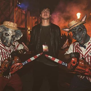 Thanks for having me @horrornights #UnirversalHHN