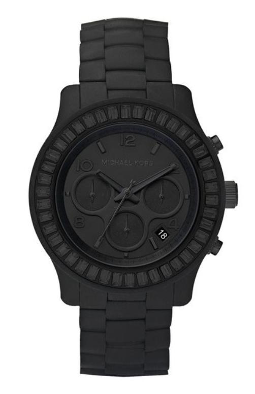 3456f534e3 Michael Kors Black Michael Kors Watch