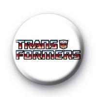 Transformers Text Button Badge  Button Badges £0.85