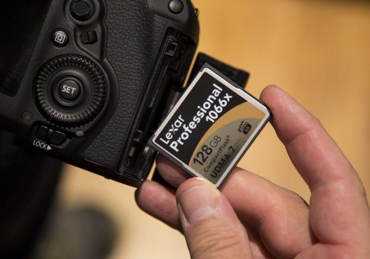 why you should not delete images on your memory card using