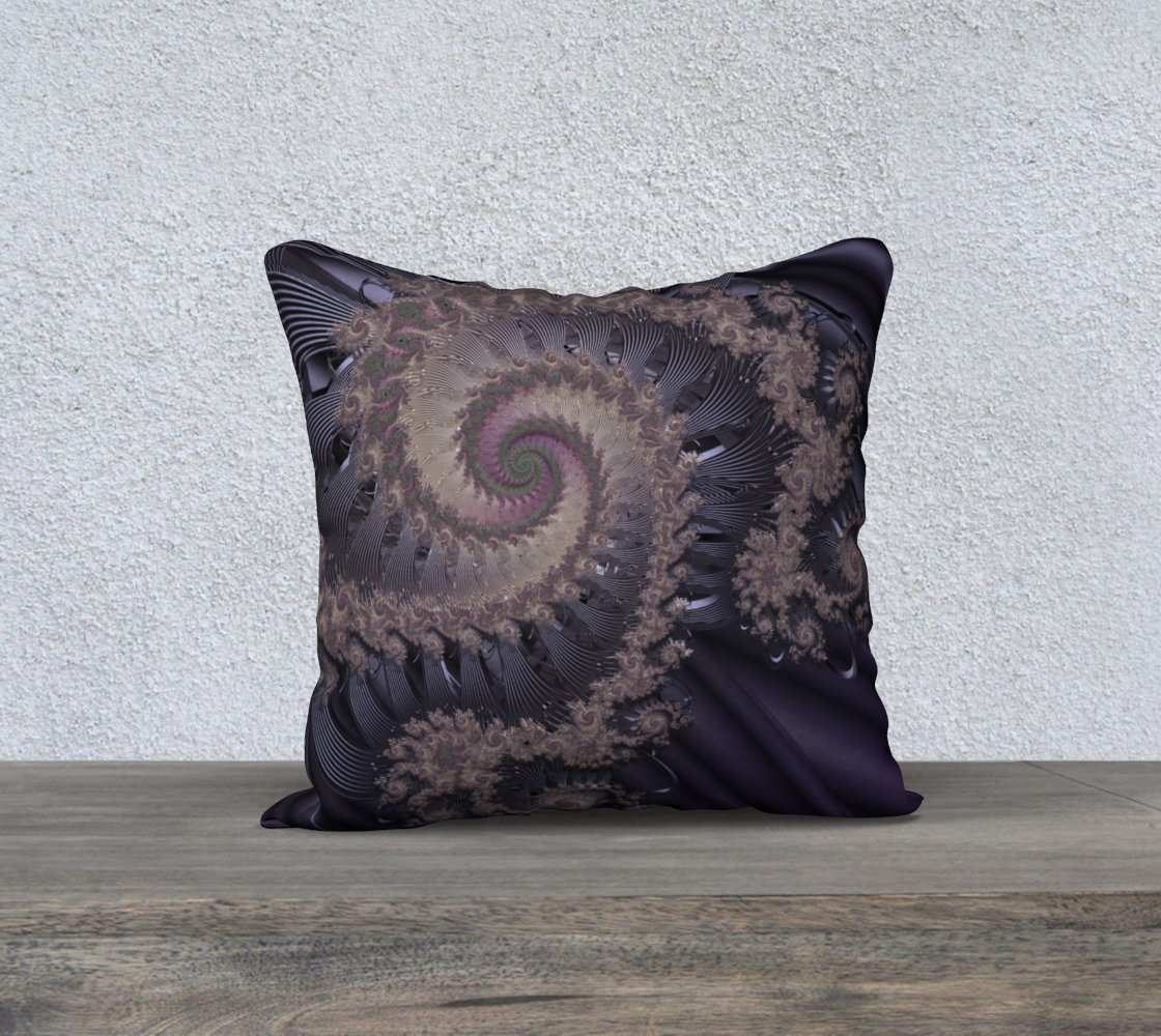 "18""+x+18""+pillow+""Contempo""+by+Kimberly+Rae+Hansen+Digital+Artistry+~+Fractalicious®"