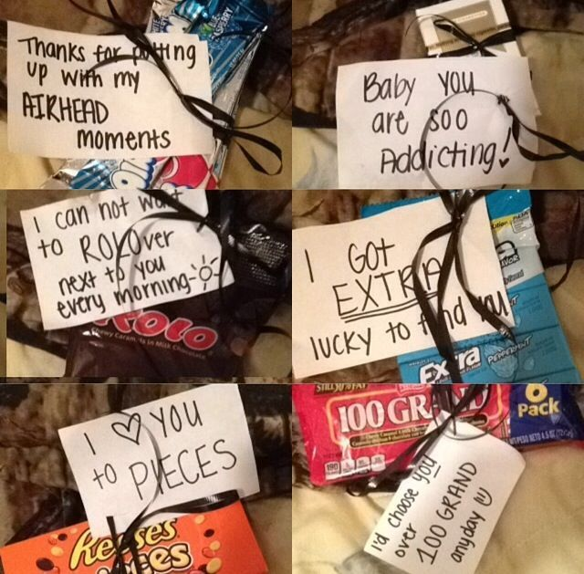 Cute Cheap Very Appreciated Candy Gift My Boyfriend Loved It And I Only Spent 10 Gifts