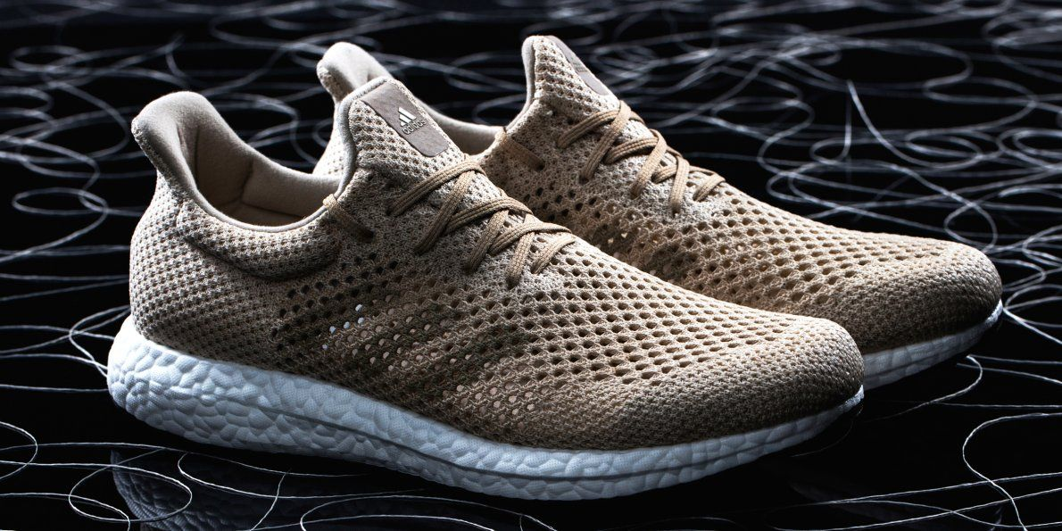 Adidas is launching biodegradable shoes that can be