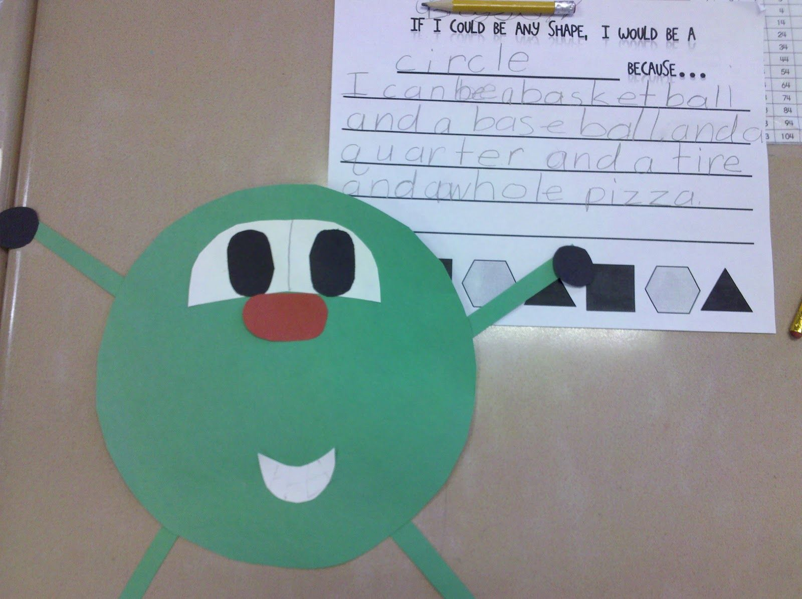Fun In First Grade Shape Creative Writing